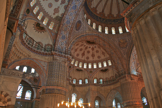 Istanbul Mosque by Flickr CC abnat