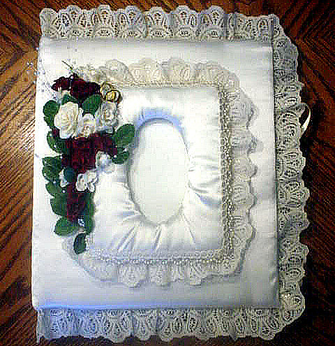 custom made wedding album in satin lace flickr photo sharing