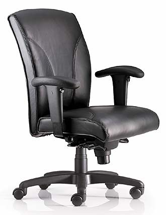 Classic leather ergonomic chair