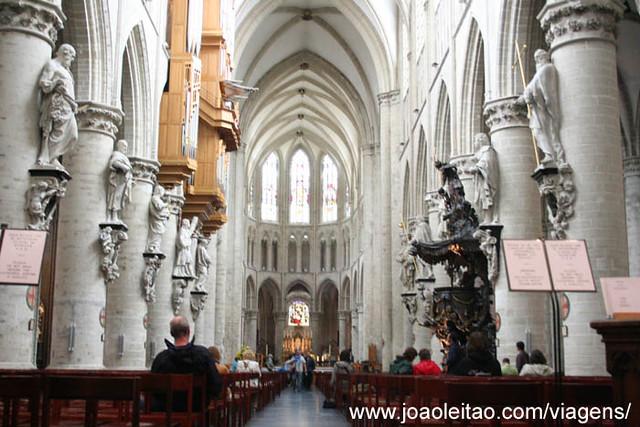 Fotografias Catedral São Miguel e Santa Gudula, Bruxelas, Bélgica