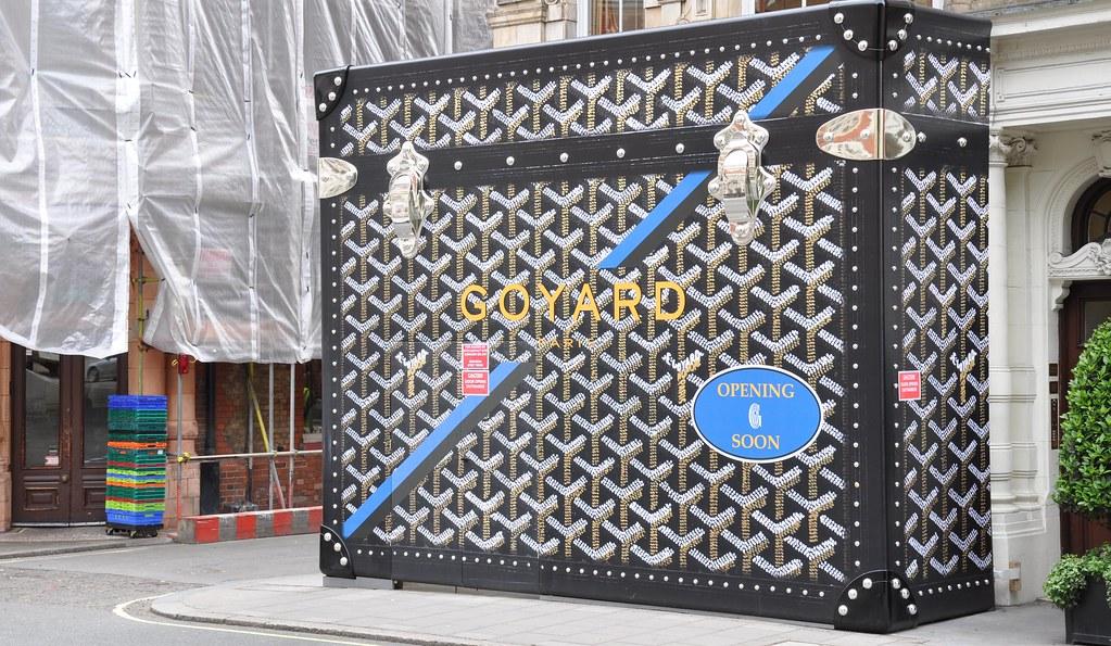 Goyard new store -opening soon