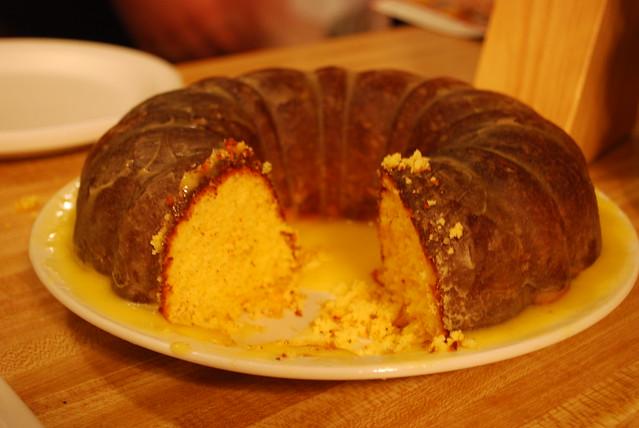 Screwdriver cake (recipe) | 1 package yellow cake mix (no p ...