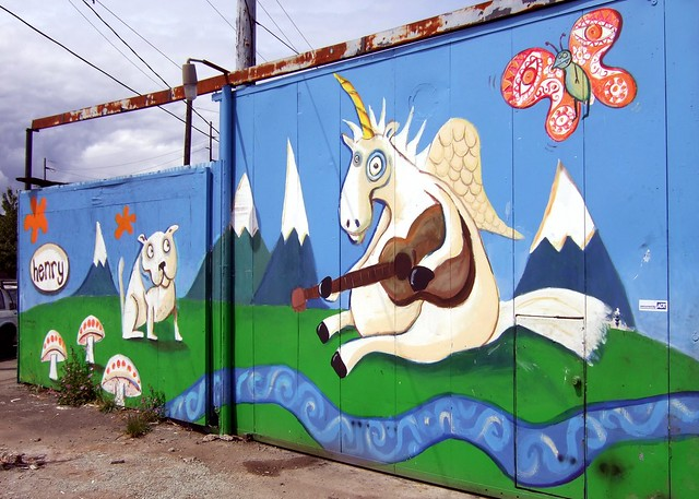 Henry mural, take one | Flickr - Photo Sharing!