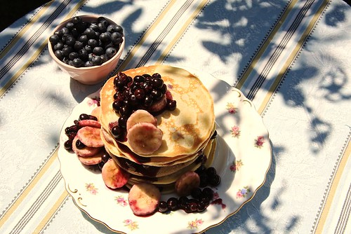 Blueberry Pancakes Recipe  - July 09 - Cherry Menlove