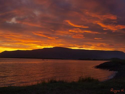 sunset sunrise iceland olympus ragna coth ísland reykjavík anawesomeshot fabbow flickrswarmlighting