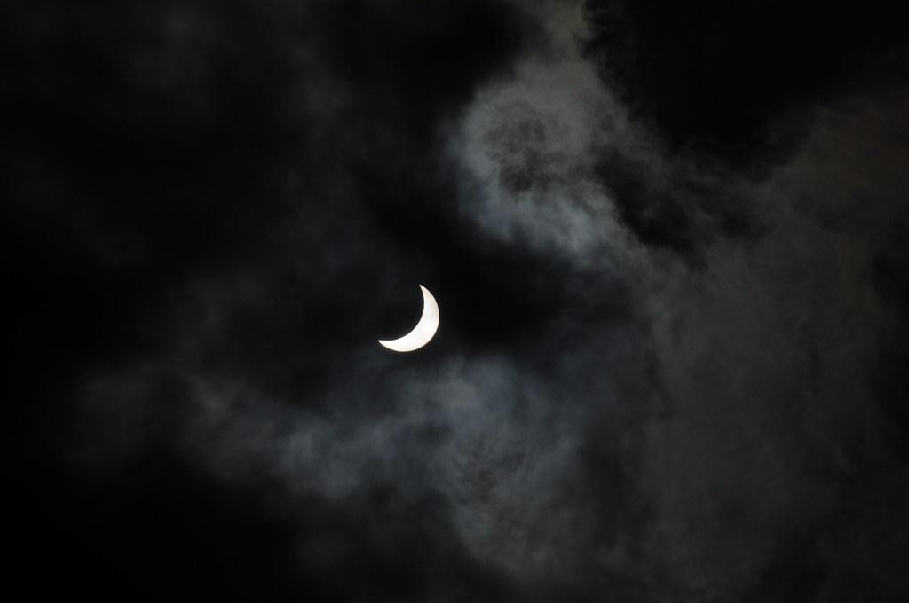 2009.07.22 台北看到的日偏食