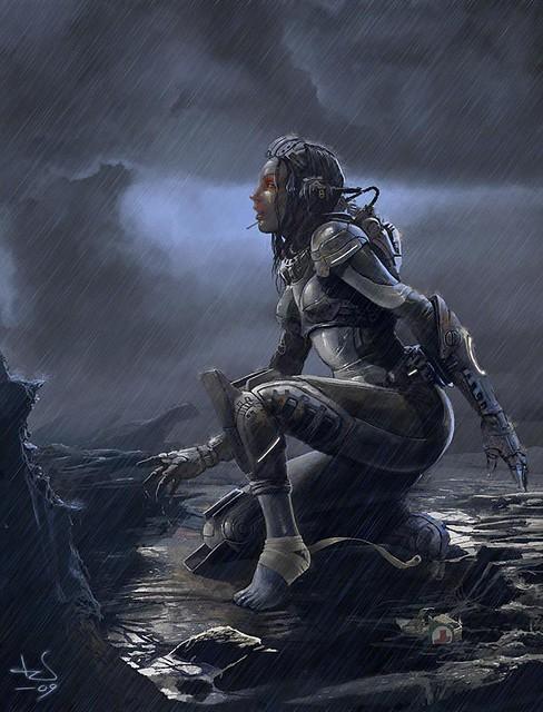 StarCraft Female Ghost | Flickr - Photo Sharing!