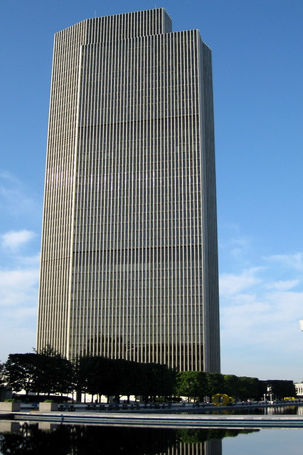 NY - Albany: Empire State Plaza - Erastus Corning Tower