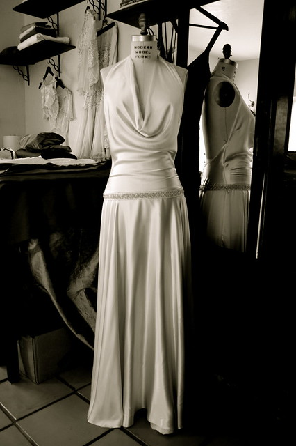 Silk Charmeuse Wedding Dress Flickr Photo Sharing