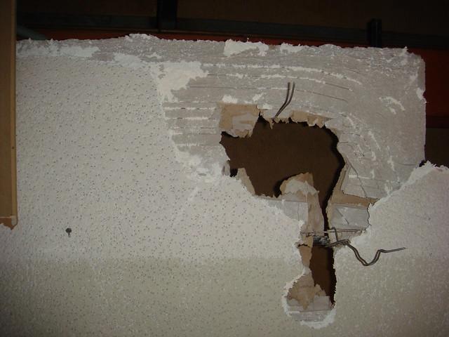 Asbestos Plaster Ceiling
