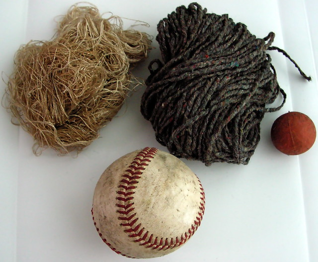 Have you ever wondered what's inside a baseball?