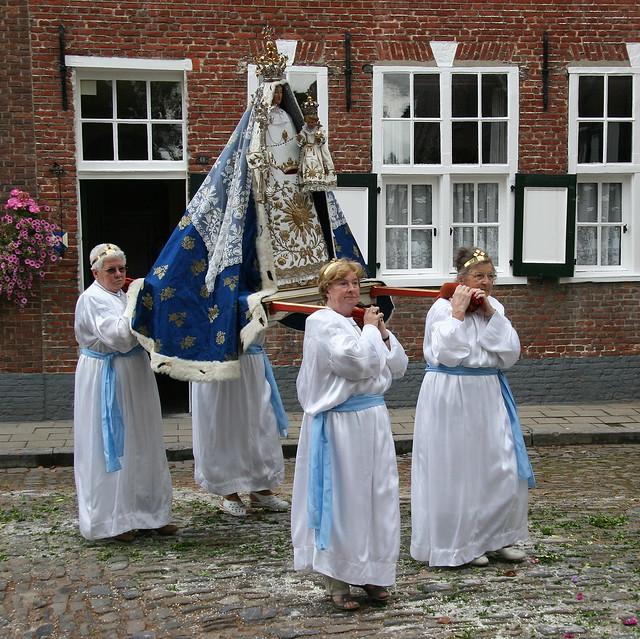 Europe - Belgium / Turnhout - procession