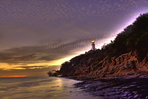 Diamond Head Lighthouse HDR