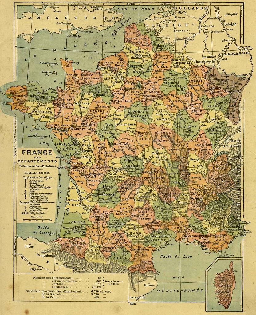 France par dŽpartements