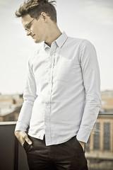 clothing, collar, white, dress shirt, sleeve, outerwear, photo shoot, pocket, shirt,