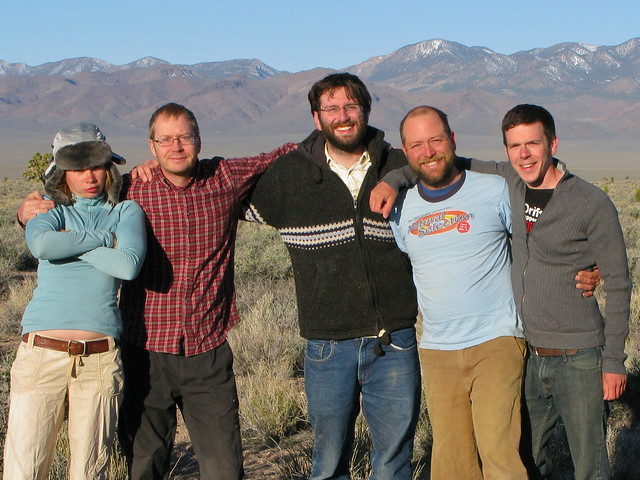 2010.04.08 - The team