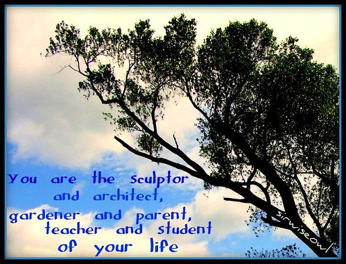 You Are The Sculptor...