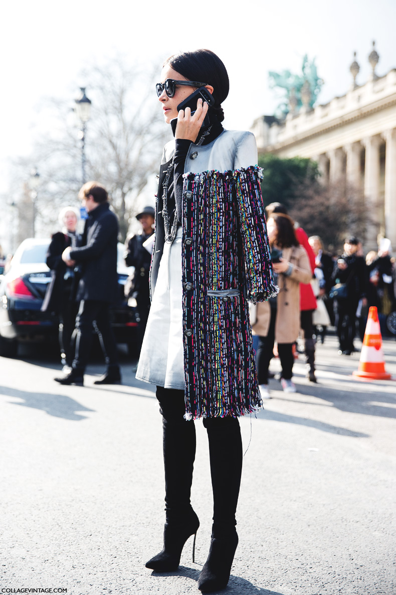 Paris_Fashion_Week_Fall_14-Street_Style-PFW-_Chanel-Miroslava_Duma-Tweed_Coat-Over_The_Knee_Boots-