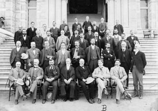 The members of the Legislature of British Columbia, Victoria / Membres de l'Assemblée législative de la Colombie-Britannique, Victoria