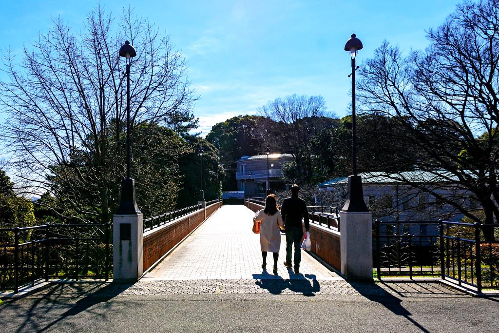 Kanagawa Museum of Modern Literature in Minato-no-Mieru-Oka Park : 港の見える丘公園神奈川近代文学館