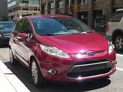 automobile, supermini, vehicle, city car, ford, ford fiesta, land vehicle, hatchback,