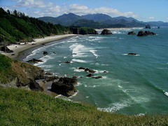 Oregon/Washington coast by Nina