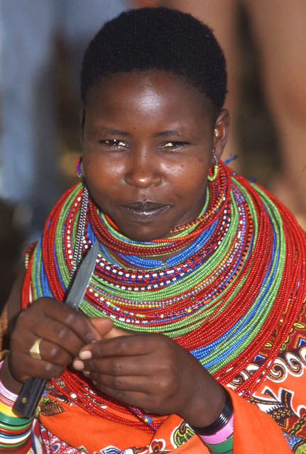 Some Maasai Warriors ( Pentax)
