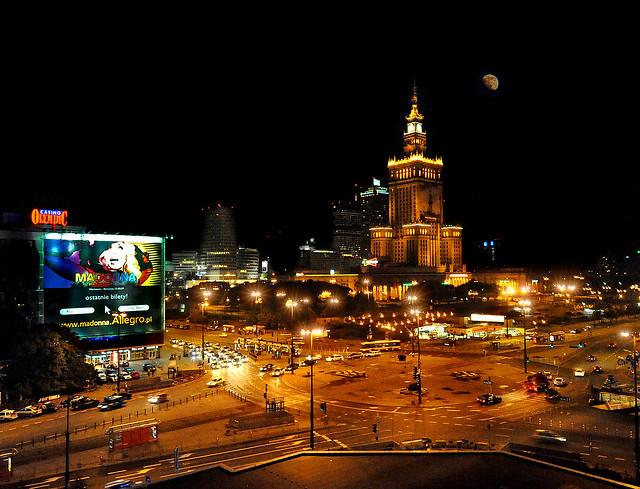 ~ Warsaw At Night - ISO 12,800 !!! ~