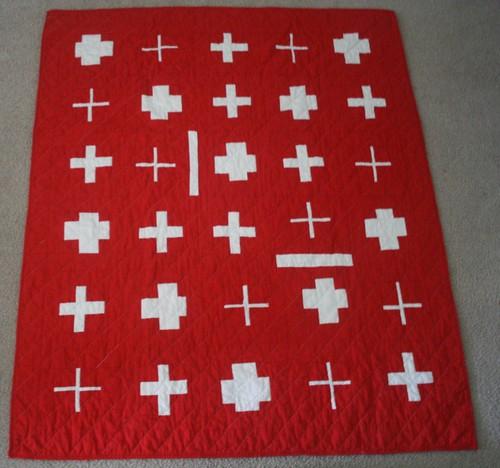 Swiss Cross Quilt