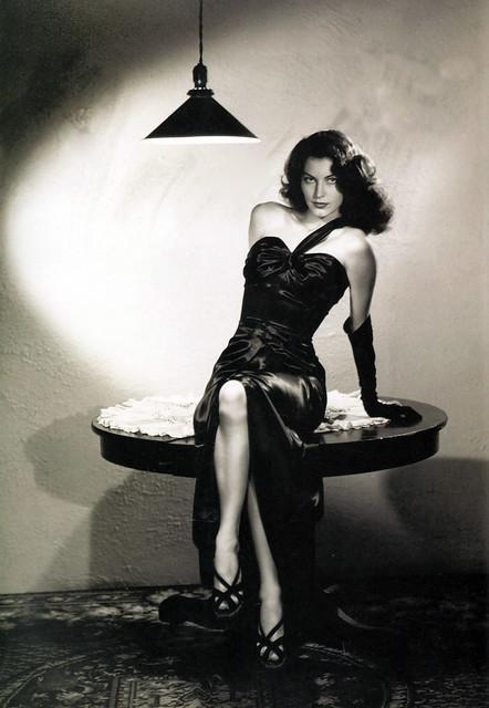 Ava Gardner in The Killers, 1946 | Flickr - Photo Sharing! Ava Gardner The Killers Dress