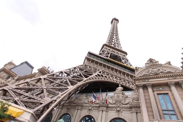 Under the Eiffel Tower - Las Vegas