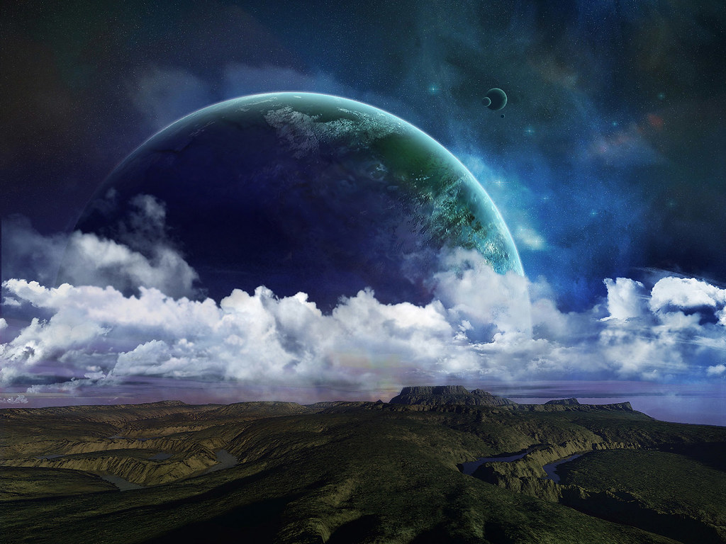 Space Art Wallpapers 00