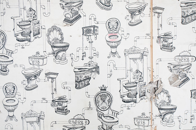 Toilet wallpaper 2017 grasscloth wallpaper for Toilet wallpaper