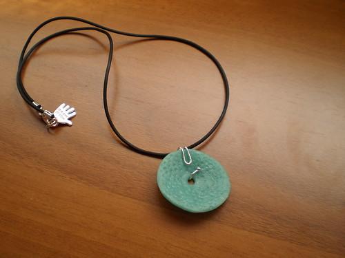 collar sencillo ameba