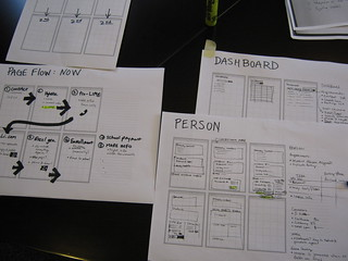 Sketchboard - 6-up wireframes