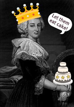 Antoinette Let Them Eat Cake