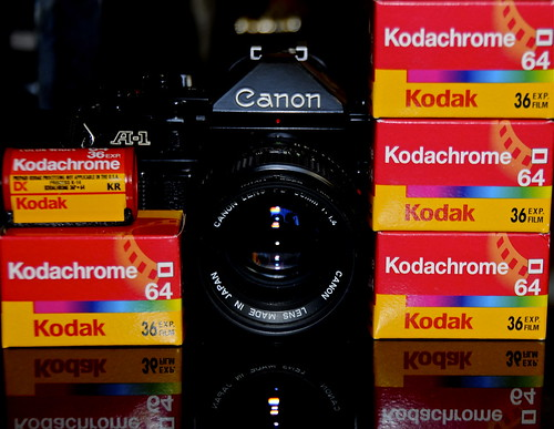 Kodachrome 64 film. End of an era.
