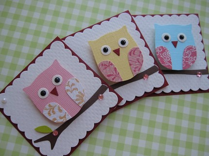 Sweet n Cute Owl Embellishments