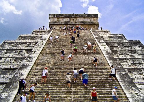 chich n itz pyramid yucat n mexico siglo xii d c