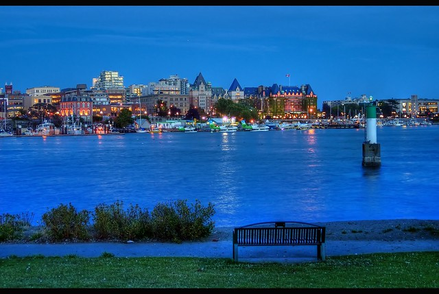 Victoria, British Columbia Blue Hour