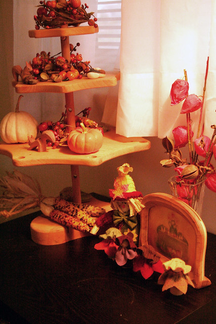 October's Nature Table...