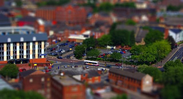 Bolton - tiltshift, Bow Street