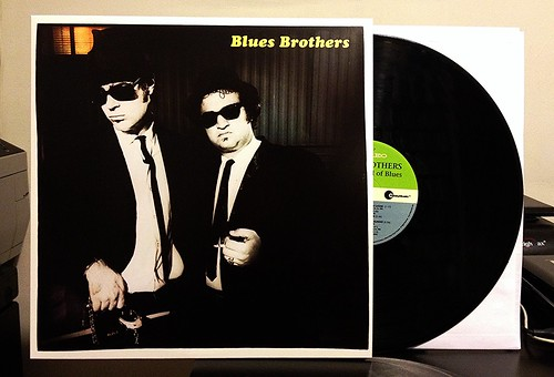 The Blues Brothers - Briefcase Full of Blues LP - 2014 Reissue by Tim PopKid