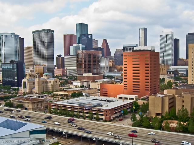 Downtown Houston (the St. Joseph view)