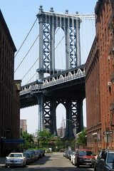 NYC - Brooklyn - DUMBO: Manhattan Bridge