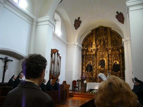 iglesia del monasterio de las Carbajalas