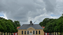Copenhagen: peeking windmill