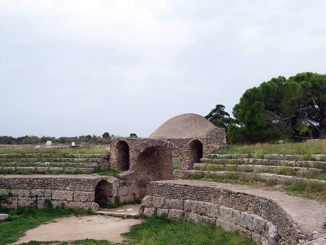 Amphitheatre, Paestum