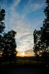 sunset over flint ridge