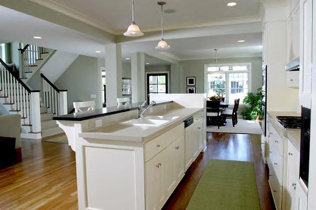 Craftsman Kitchen Floor Plan